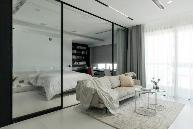 """Thay tường bằng """"kính vô hình"""" tạo cảm giác rộng rãi cho không gian sống"""