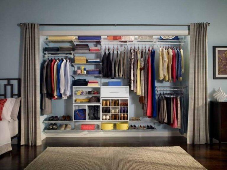 6 thiết kế tủ quần áo thông minh cho phòng ngủ hẹp